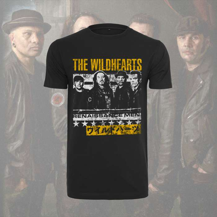 The Wildhearts - 'Band' Roundneck T-Shirt - The Wildhearts