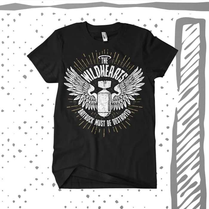 The Wildhearts - 'Bomb' T-Shirt - The Wildhearts