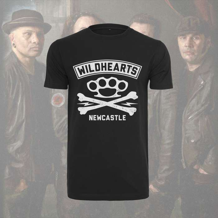 The Wildhearts - 'Crossbones' Roundneck T-Shirt - The Wildhearts