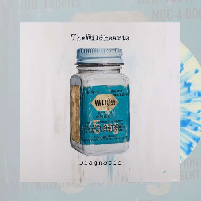 The Wildhearts - 'Diagnosis' 10'' Coloured Vinyl - The Wildhearts