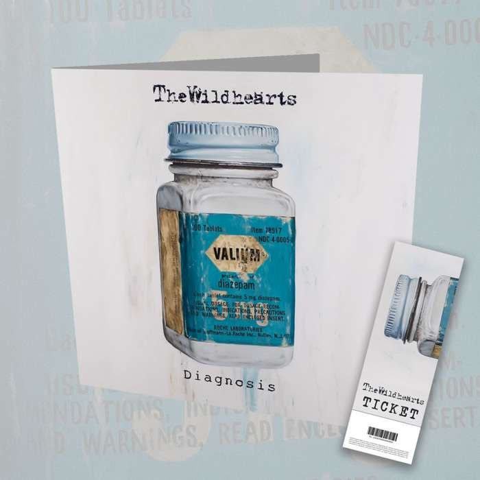 The Wildhearts - 'Diagnosis' CD + Ticket Bundle - The Wildhearts