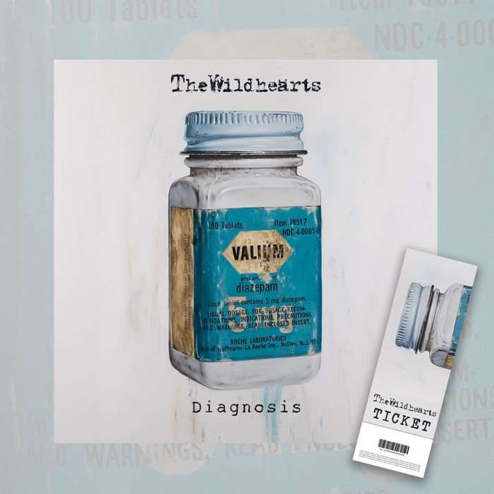 The Wildhearts - 'Diagnosis' Digital Album + Ticket Bundle - The Wildhearts