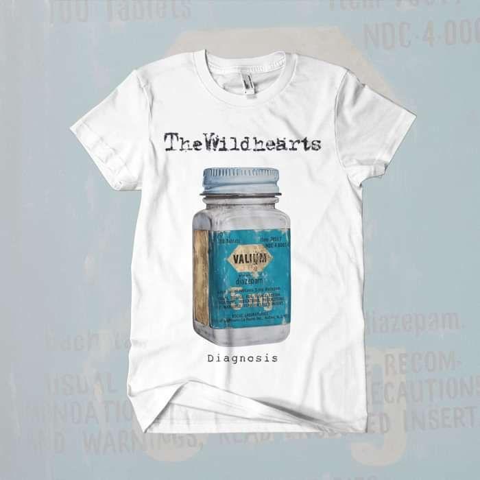 The Wildhearts - 'Diagnosis' T-Shirt - The Wildhearts