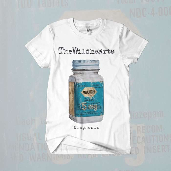 The Wildhearts - 'Diagnosis' T-Shirt - The Wildhearts