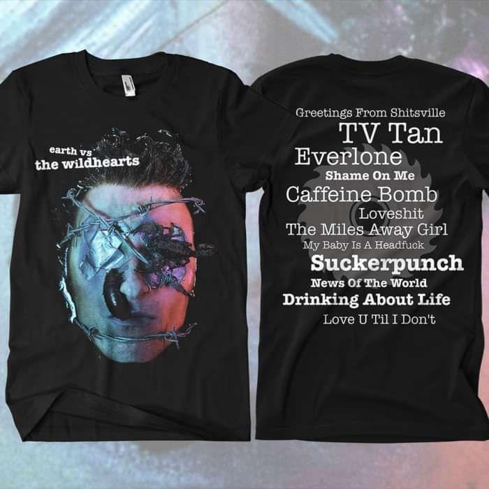 The Wildhearts - 'Earth v The Wildhearts' T-Shirt - The Wildhearts