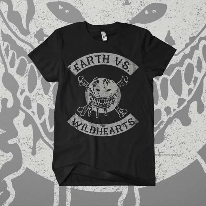 The Wildhearts - 'Earth Vs Biker' T-Shirt - The Wildhearts