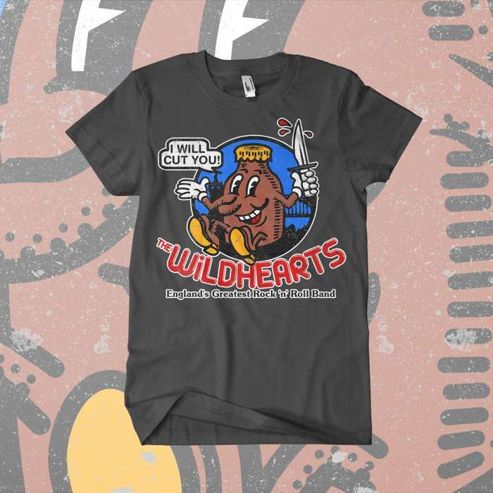 The Wildhearts - 'Howdy' T-Shirt - The Wildhearts