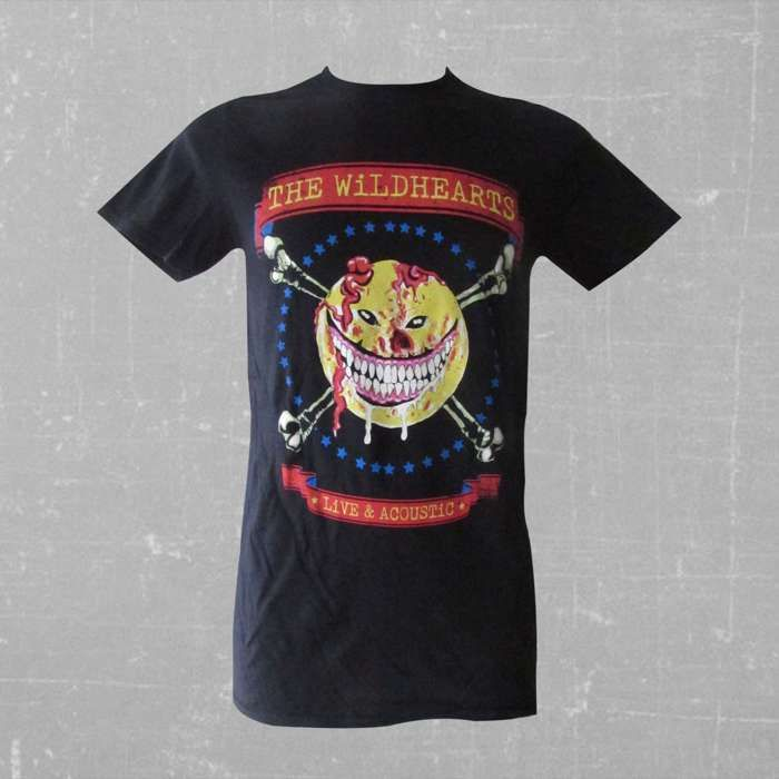 The Wildhearts  - Live & Acoustic Ladies T-Shirt - The Wildhearts