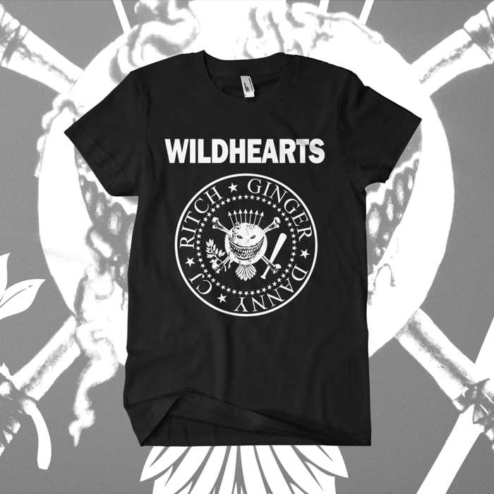 The Wildhearts - 'Ramones' T-Shirt - The Wildhearts