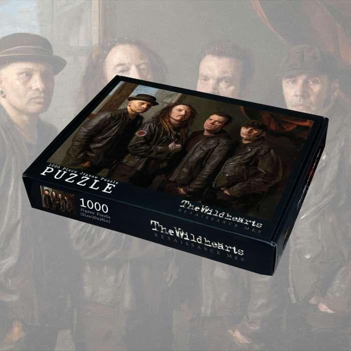 The Wildhearts - 'Renaissance Men' 1000 Piece Jigsaw - The Wildhearts
