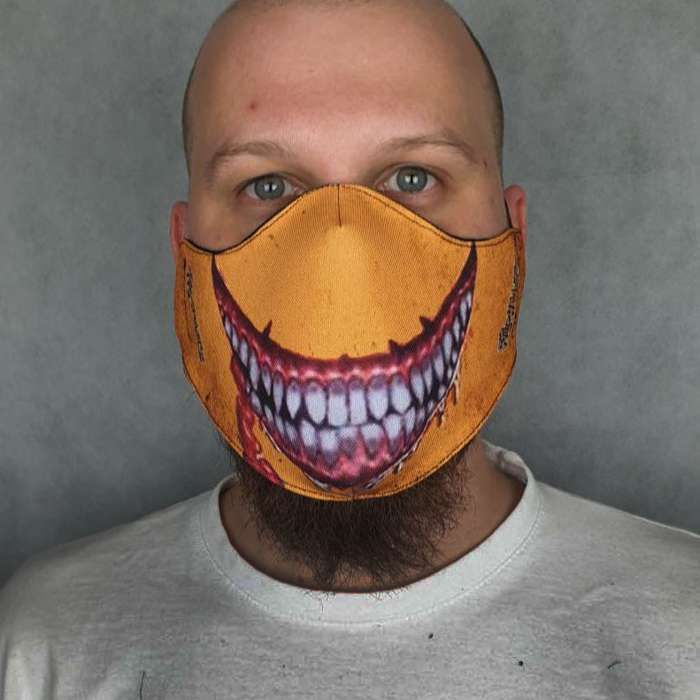The Wildhearts - 'Smiley' Face Mask - The Wildhearts