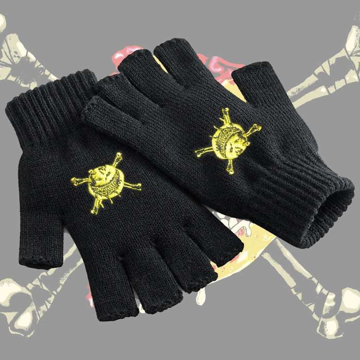 The Wildhearts - 'Smiley' Fingerless Gloves - The Wildhearts