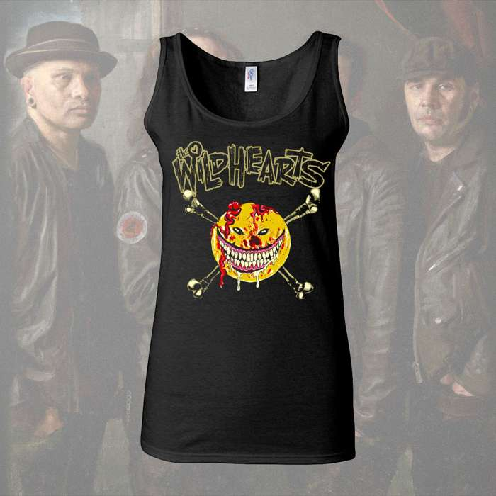 The Wildhearts - 'Smiley' Girls Vest - The Wildhearts