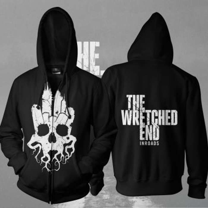 The Wretched End -  Inroads Zipped Hoody - The Wretched End