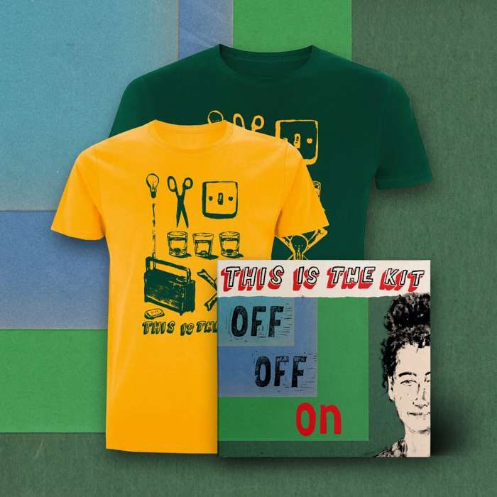 Off Off On CD and T-shirt - This Is The Kit US