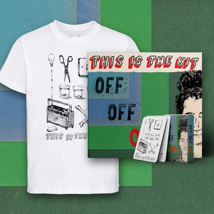 Off Off On CD, Download, T-shirt and Playing Cards - This Is The Kit US