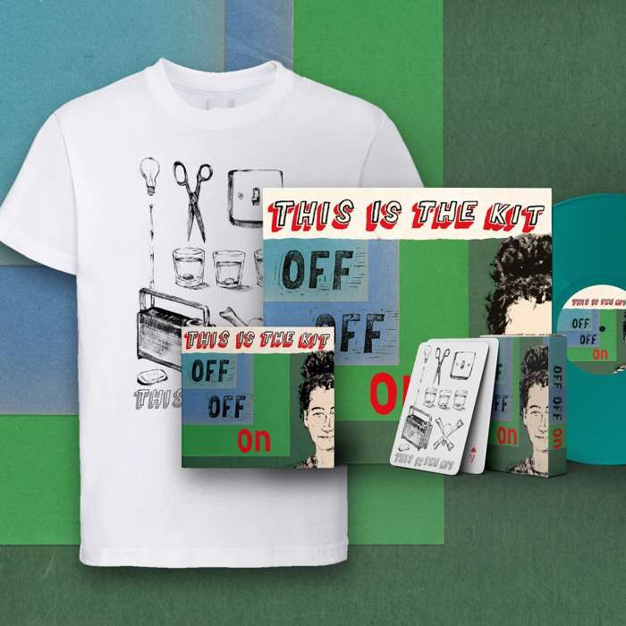 Off Off On LP, CD, Download, T-shirt and Playing Cards - This Is The Kit US