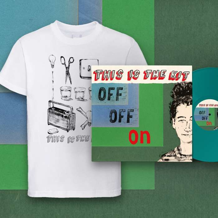 Off Off On LP, Download and T-shirt - This Is The Kit US