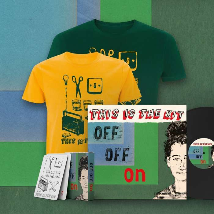 Off Off On LP,  Download, T-shirt and Playing Cards - This Is The Kit US