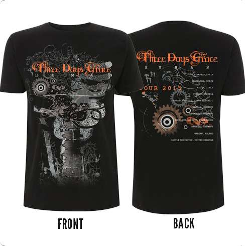 Another Gear Tour Tee - Three Days Grace