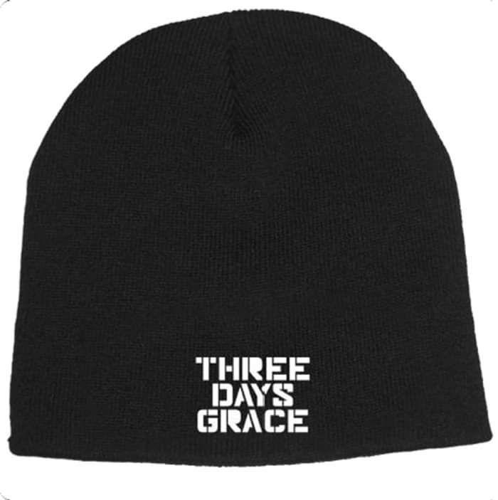 Stencil Beanie - Three Days Grace