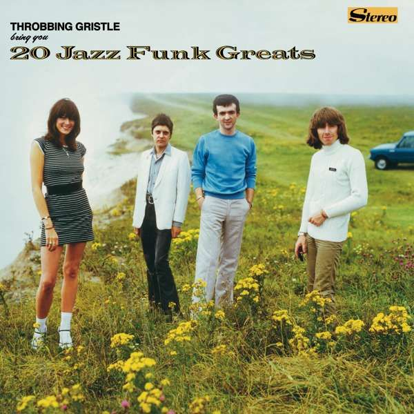 Throbbing Gristle - 20 Jazz Funk Greats Black LP - Throbbing Gristle