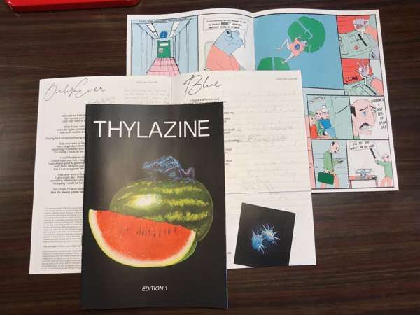 THYLAZINE: Edition 1 - THYLA