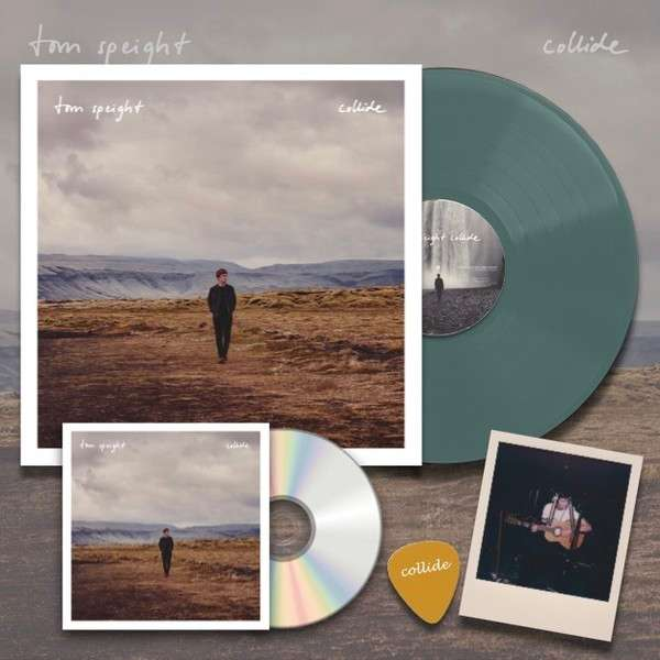 Collide - Signed CD & LP Bundle - tom speight