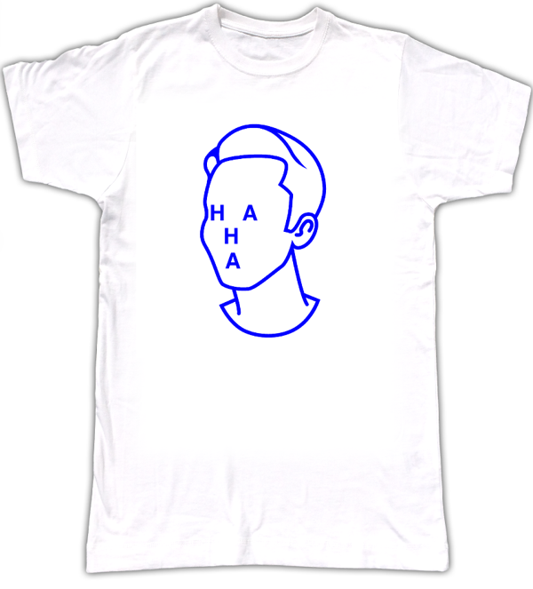 HA HA T-shirt - Tom Vek