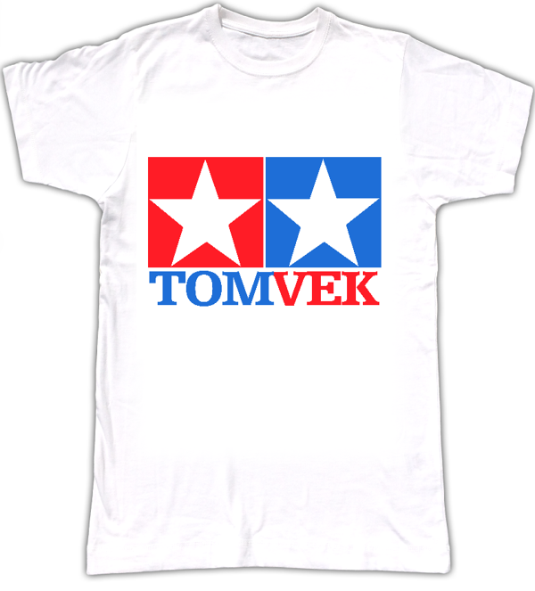 Tom Vek TAMIYA logo T-shirt - Tom Vek
