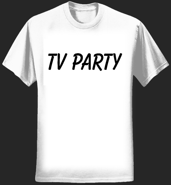 TV Party T-shirt - Tom Vek