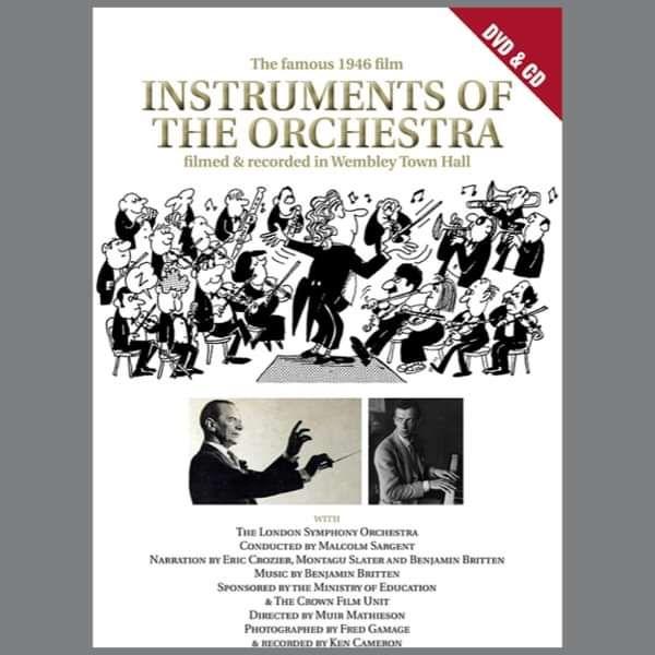 Benjamin Britten: Instruments of the Orchestra DVD (TPCD-DVD196) - Tony Palmer