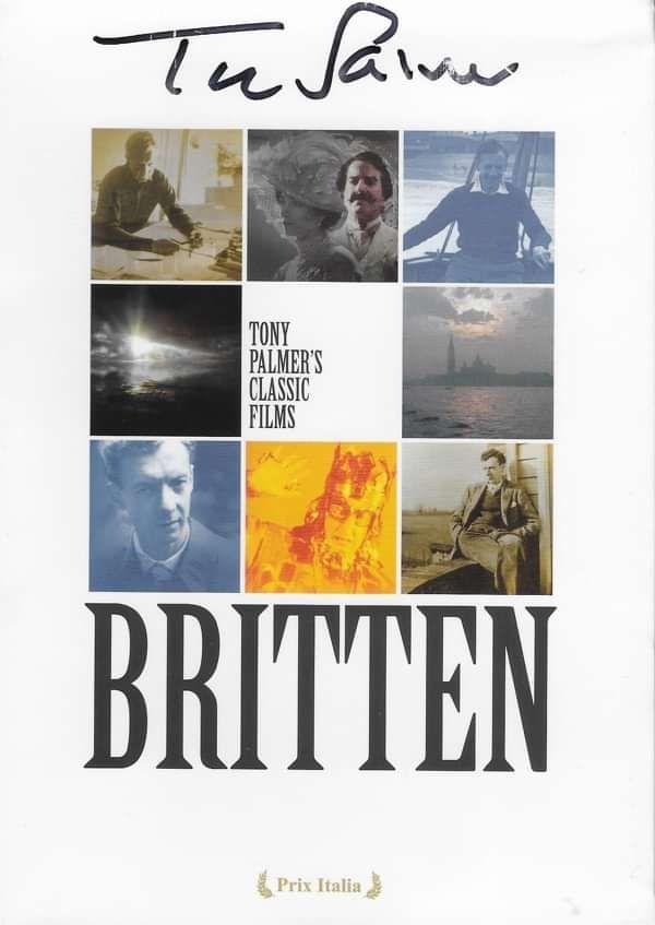 Britten Boxset **SIGNED** - Tony Palmer