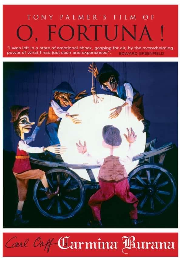 Carl Orff - O Fortuna DVD (TPDVD118) - Tony Palmer