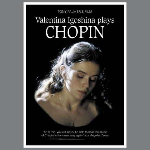 Chopin Recital - Valentina Igoshina: The Strange Case of Delfina Potocka DVD (TPDVD160) - Tony Palmer
