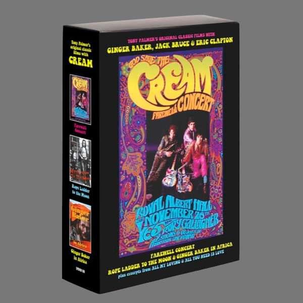 Cream: 3 DVD Boxset - Tony Palmer