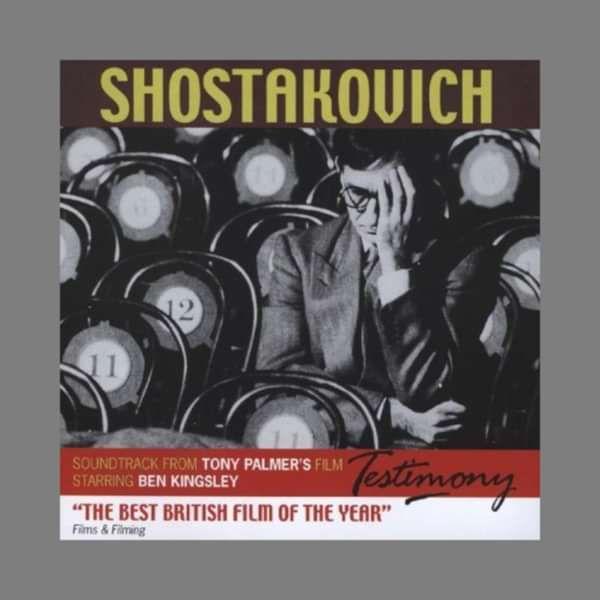 Dmitri Shostakovich: Testimony CD (TPCD145) - Tony Palmer
