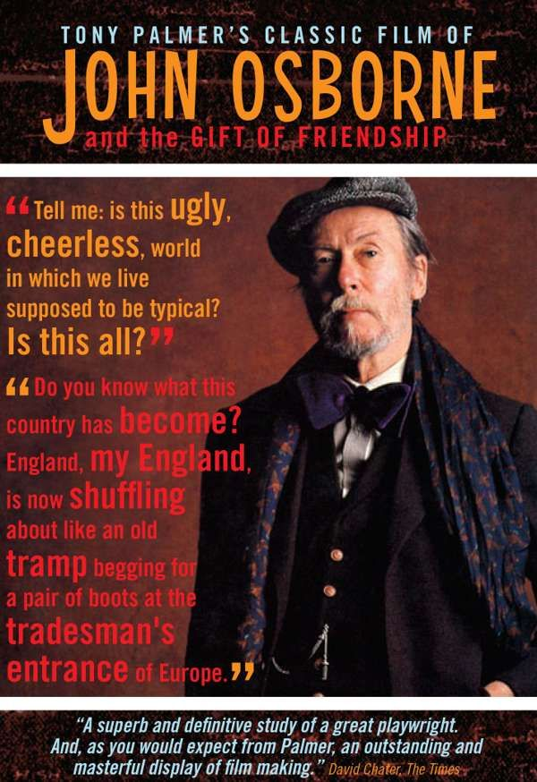 John Osborne The Gift of Friendship DVD (TPDVD150) - Tony Palmer