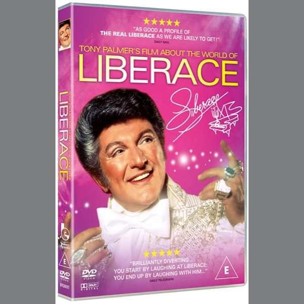 Liberace: The World of Liberace DVD (TPDVD164) - Tony Palmer