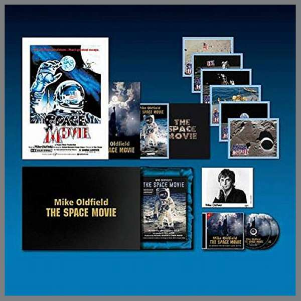 Mike Oldfield. The Space Movie Directors Box Set - Tony Palmer