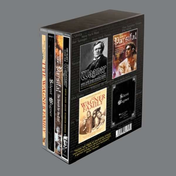 Richard Wagner: Wagner 6 Disc DVD box set - Tony Palmer