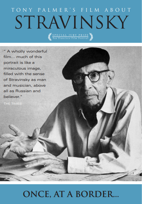 Stravinsky: Once At A Border DVD - Tony Palmer
