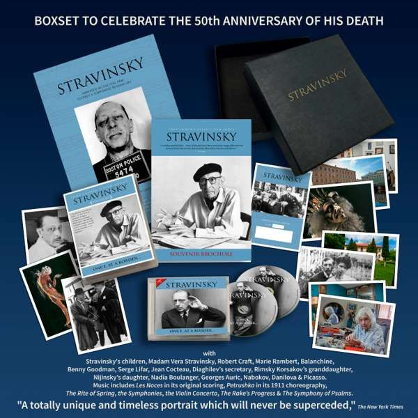Tony Palmer - Stravinsky 50th Anniversary Box Set - Tony Palmer