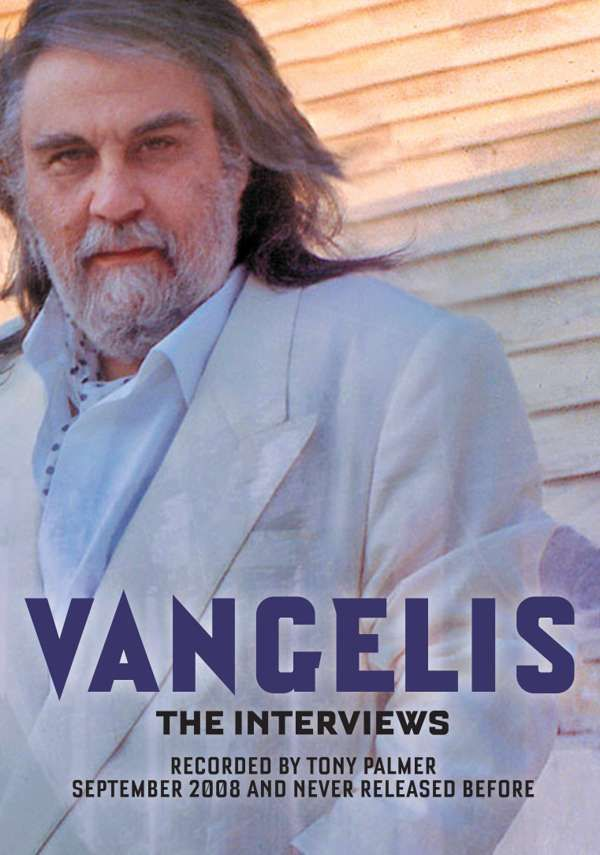 Vangelis - The Tony Palmer Interviews DVD (TPDVD192) - Tony Palmer
