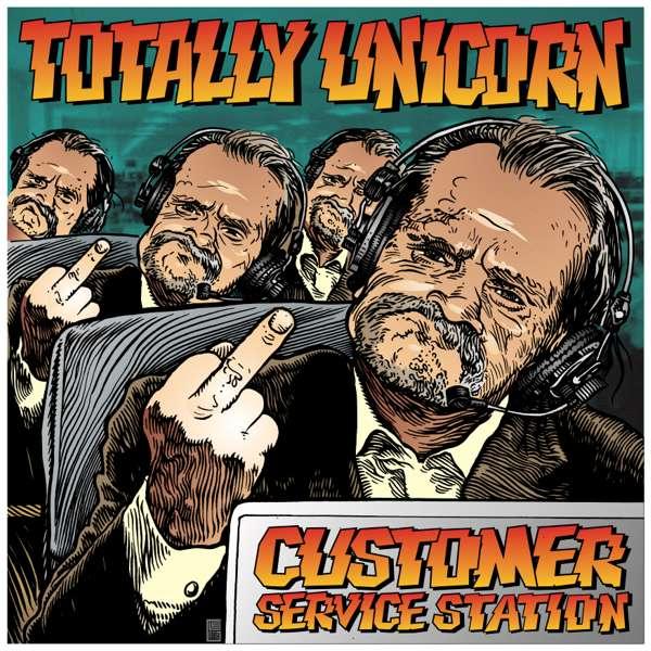 Customer Service Station Digital Track - Totally Unicorn