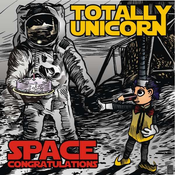Space Congratulations Digital Track - Totally Unicorn