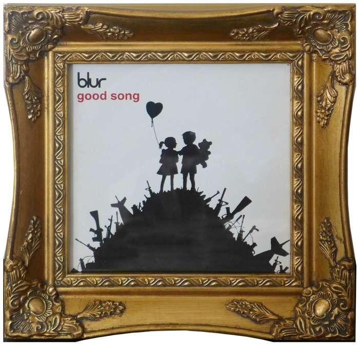 """Good Song"" BANKSY (Framed) - DJ Trendy wendy"