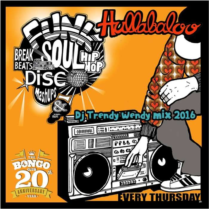 Hullabaloo Mix 2 - DJ Trendy wendy