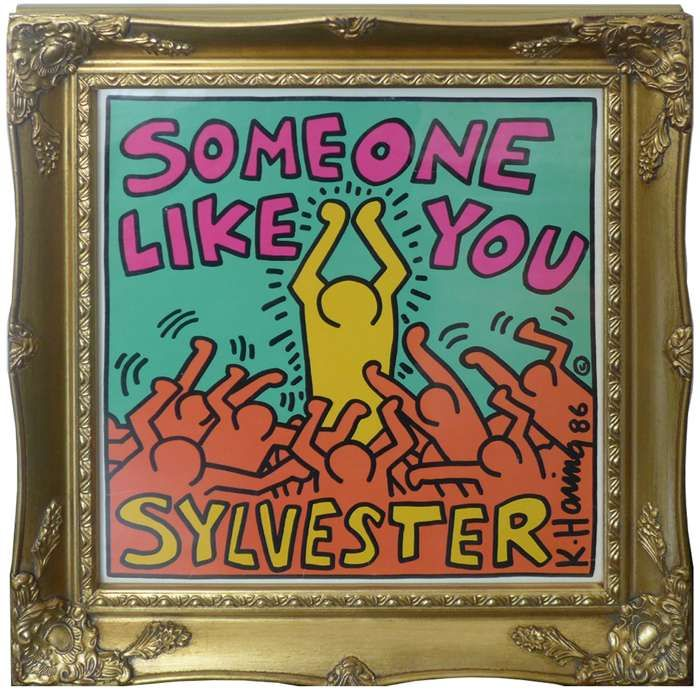 """""""Someone like you"""" KEITH HARING (Framed) - DJ Trendy wendy"""