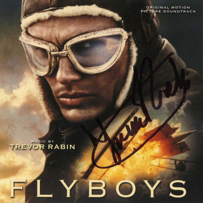 Fly Boys (Original Motion Picture Score) - hand signed by Trevor - Trevor Rabin
